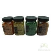Cristalinos Decorativos Naranja, Amarillo, Verde, Naranja Oscuro